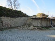 Obnova hradeb 2018- 20194